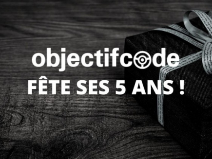 ObjectifCode fête ses 5 ans !